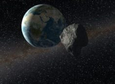 К Земле приближается гигантский астероид