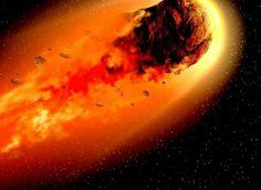 Опасный астероид приближается к Земле