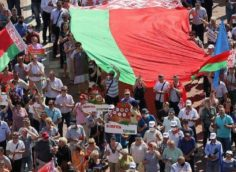 Протесты в Белоруссии, коротко на 17 августа