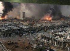 Новые видео последствия взрыва в Буйруте