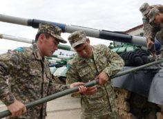 Казахстанский экипаж будет выступать на танках желтого цвета на Армейских играх