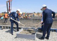 Новая больница для больных КВИ в Алматы