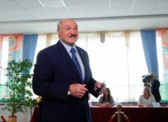 Предварительные итоги на 10 августа выборов президента Белоруссии