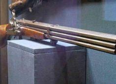 9-ствольный кремневый мушкет