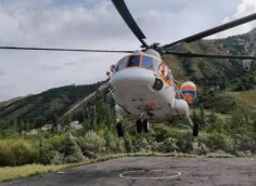 Над Алматы стали летать вертолеты, что обеспокоило горожан