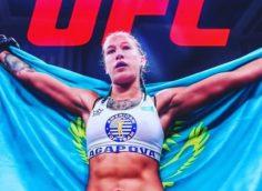 23 августа состоится поединок Марии Агаповой и американки Шана Добсон на UFC