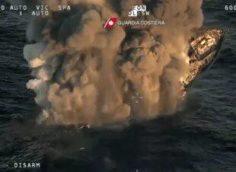 В Италии затонула яхта, казахстанцев спасли