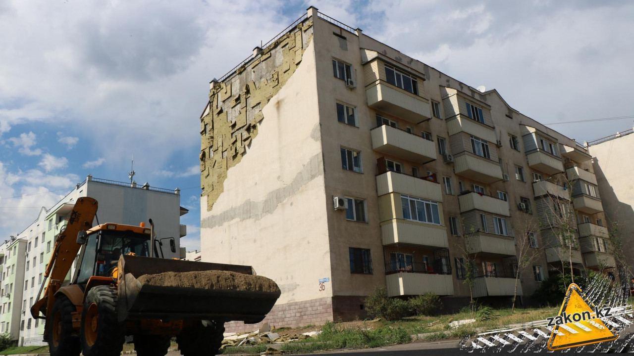 В Зердели от ветра разрушаются дома