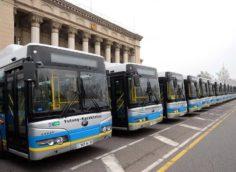 Как будет работать общественный транспорт в Алматы с 1 по 4 января и 7 января 2021 года?