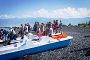 Туризм на озере Алаколь