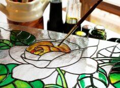 Популярные эффекты, которые можно получить на стане при помощи декоративной краски