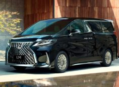 Lexus LM: особенности минивэна