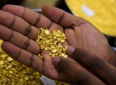 В Конго обнаружили гору, которая на 90% состоит из золота