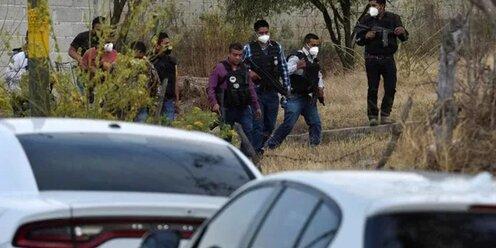 В Мексике бандиты напали на полицейских и убили 13 человек
