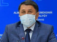 Постановление Главного санврача Алматы Бекшина от 20 марта 2021