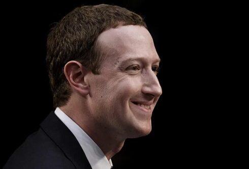 Номер телефона основателя Facebook попал в интернет