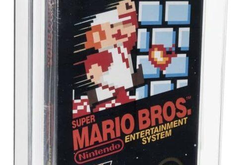 Видеоигру Super Mario Bros продали за рекордную сумму