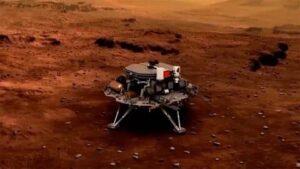 "Китайский марсоход ""Чжужун"" в субботу успешно совершил посадку на Марс"