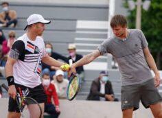 Казахстанские теннисисты сотворили сенсацию