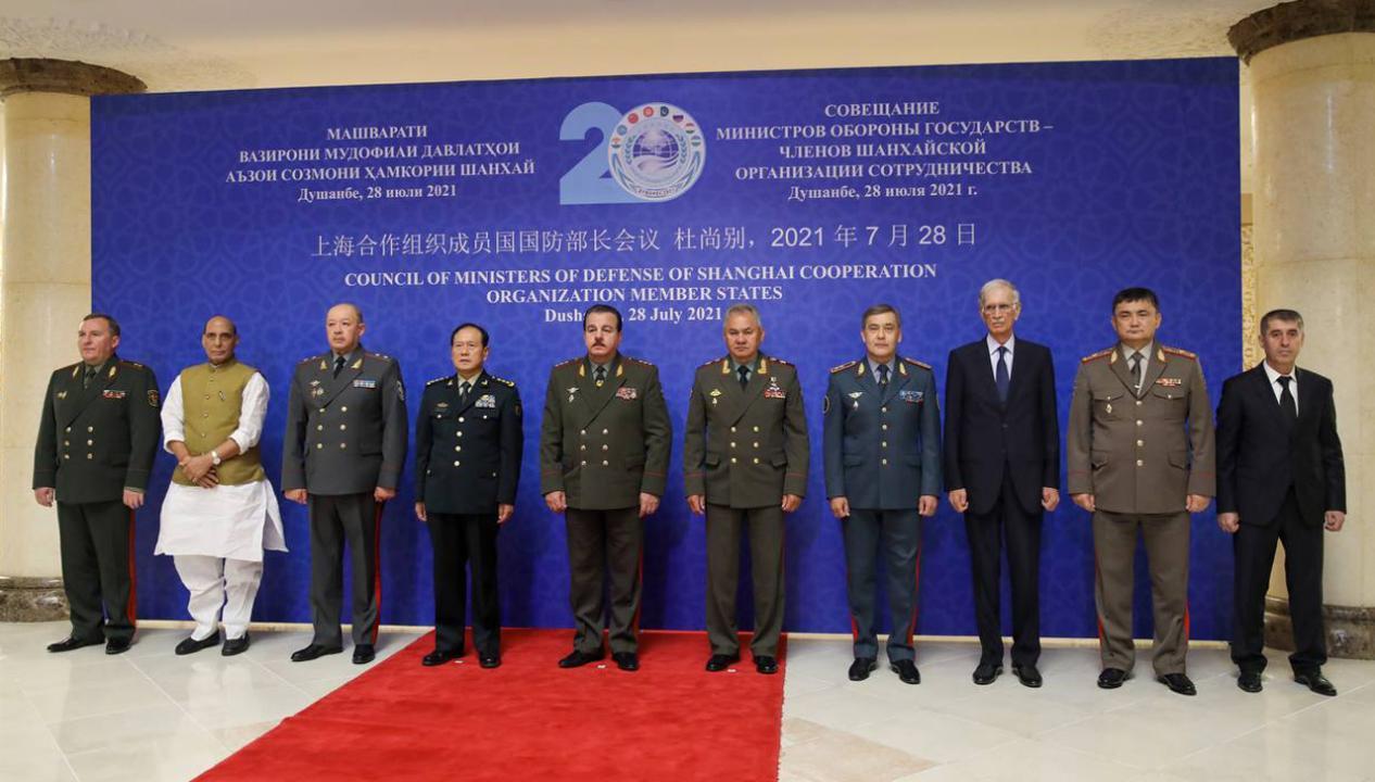 В Душанбе состоялось совещание министров обороны – членов ШОС