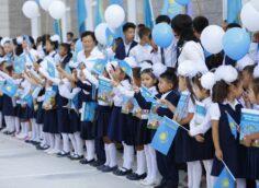 394 тысячи детей пошли в первый класс в Казахстане